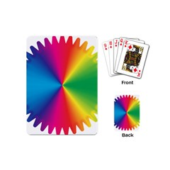 Rainbow Seal Re Imagined Playing Cards (mini)
