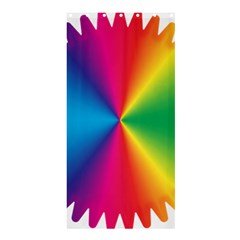 Rainbow Seal Re Imagined Shower Curtain 36  X 72  (stall)