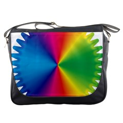 Rainbow Seal Re Imagined Messenger Bags