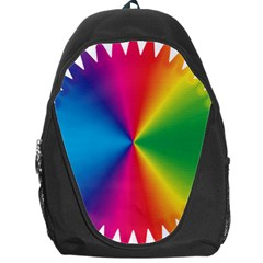 Rainbow Seal Re Imagined Backpack Bag
