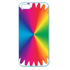 Rainbow Seal Re Imagined Apple Seamless Iphone 5 Case (color)