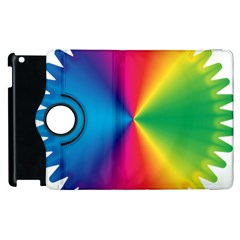Rainbow Seal Re Imagined Apple iPad 2 Flip 360 Case
