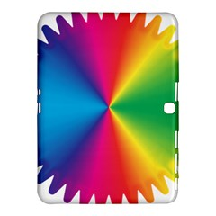Rainbow Seal Re Imagined Samsung Galaxy Tab 4 (10.1 ) Hardshell Case
