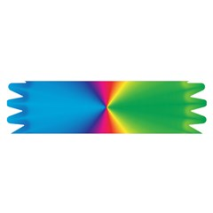 Rainbow Seal Re Imagined Satin Scarf (oblong)
