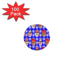 Cake Pattern 1  Mini Buttons (100 Pack)