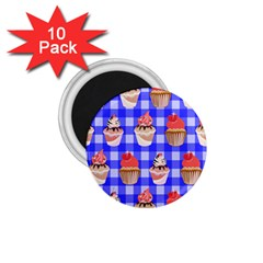 Cake Pattern 1 75  Magnets (10 Pack)