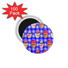 Cake Pattern 1 75  Magnets (100 Pack)