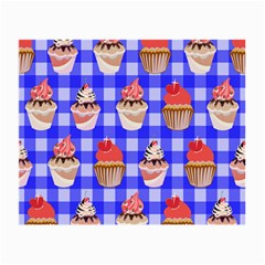 Cake Pattern Small Glasses Cloth