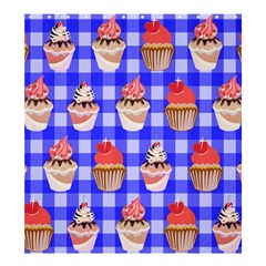 Cake Pattern Shower Curtain 66  x 72  (Large)