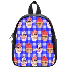 Cake Pattern School Bags (small)