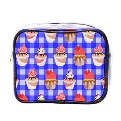 Cake Pattern Mini Toiletries Bags