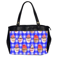 Cake Pattern Office Handbags (2 Sides)