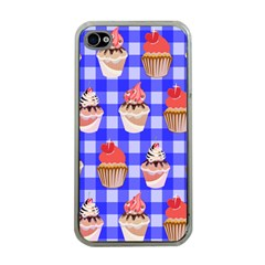Cake Pattern Apple iPhone 4 Case (Clear)
