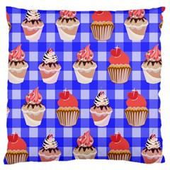 Cake Pattern Large Cushion Case (one Side)