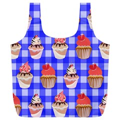 Cake Pattern Full Print Recycle Bags (l)