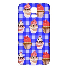 Cake Pattern Samsung Galaxy S5 Back Case (White)