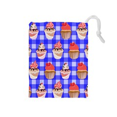 Cake Pattern Drawstring Pouches (medium)