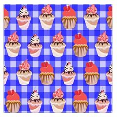 Cake Pattern Large Satin Scarf (square)