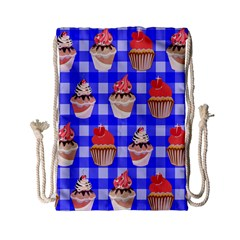 Cake Pattern Drawstring Bag (Small)