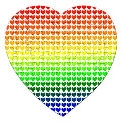 Rainbow Love Jigsaw Puzzle (heart)