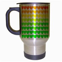 Rainbow Love Travel Mug (silver Gray)