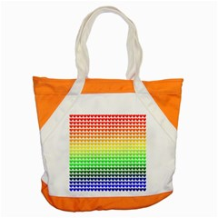 Rainbow Love Accent Tote Bag