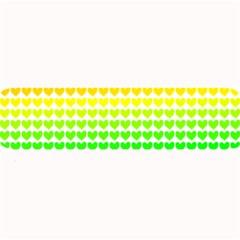 Rainbow Love Large Bar Mats