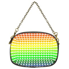 Rainbow Love Chain Purses (one Side)