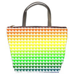 Rainbow Love Bucket Bags