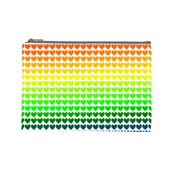 Rainbow Love Cosmetic Bag (Large)