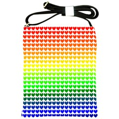 Rainbow Love Shoulder Sling Bags