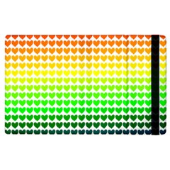 Rainbow Love Apple iPad 2 Flip Case