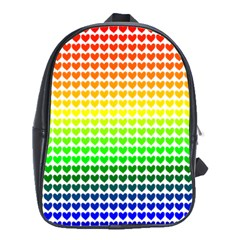 Rainbow Love School Bags (xl)
