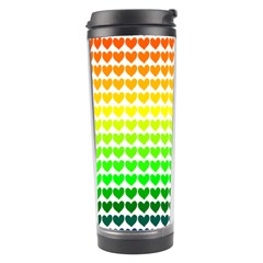 Rainbow Love Travel Tumbler