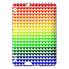Rainbow Love Kindle Fire Hdx Hardshell Case