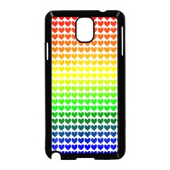 Rainbow Love Samsung Galaxy Note 3 Neo Hardshell Case (black)