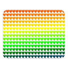 Rainbow Love Double Sided Flano Blanket (large)