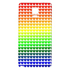 Rainbow Love Galaxy Note 4 Back Case