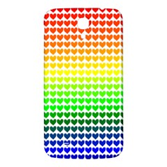 Rainbow Love Samsung Galaxy Mega I9200 Hardshell Back Case