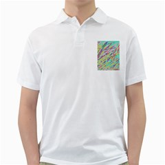 Crayon Texture Golf Shirts