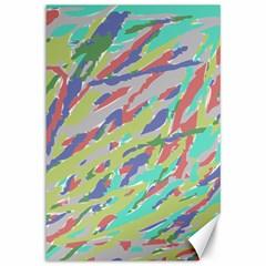 Crayon Texture Canvas 12  X 18