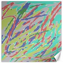 Crayon Texture Canvas 16  X 16