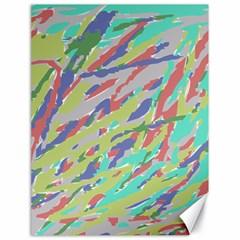 Crayon Texture Canvas 18  X 24