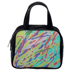 Crayon Texture Classic Handbags (One Side)