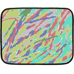 Crayon Texture Fleece Blanket (mini)
