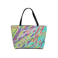 Crayon Texture Shoulder Handbags