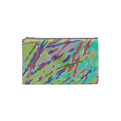 Crayon Texture Cosmetic Bag (Small)