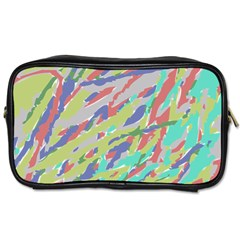 Crayon Texture Toiletries Bags 2 Side