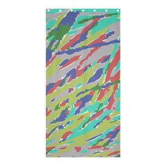 Crayon Texture Shower Curtain 36  X 72  (stall)