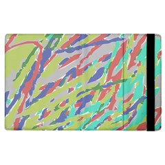 Crayon Texture Apple Ipad 3/4 Flip Case